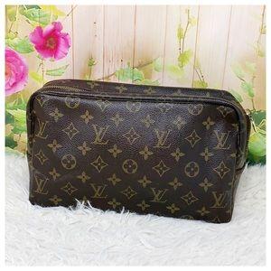 Authentic Louis Vuitton Monogram Case Vintage Bag